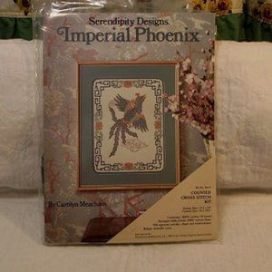 SERENDIPITY DESIGNS Counted Cross Imperial Phoenix